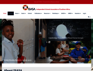 isasa.org screenshot