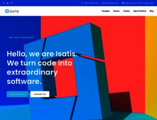 isatis.com screenshot