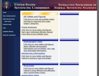 isb.ussc.gov screenshot