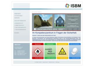 isbm-mv.de screenshot