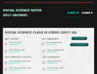 isbsocialnotes.weebly.com screenshot