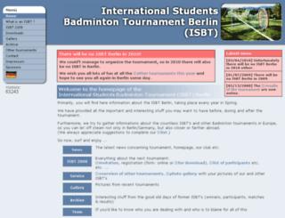isbt.de screenshot