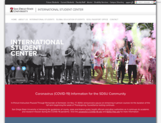 isc.sdsu.edu screenshot