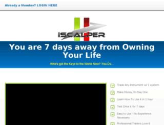 iscalper.info screenshot