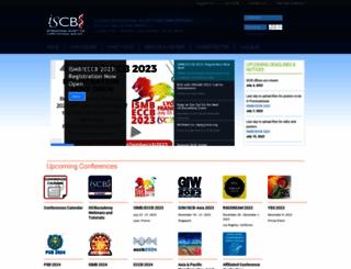 iscb.org screenshot