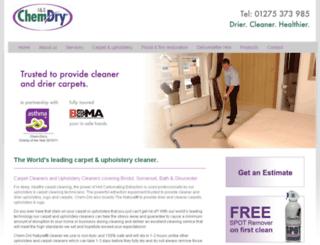 ischemdry.co.uk screenshot