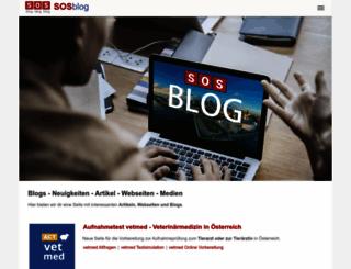iscow.sosblog.com screenshot