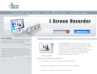 iscreenrecorder.com screenshot