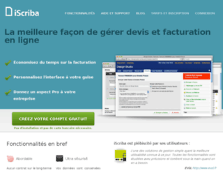 iscriba.com screenshot