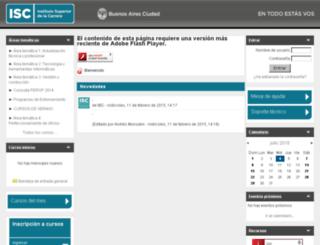 iscvirtual.buenosaires.gob.ar screenshot