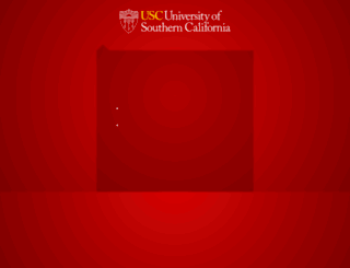 isd.usc.edu screenshot