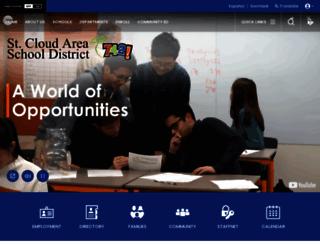 isd742.org screenshot