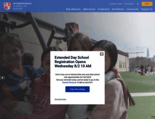 isdenver.org screenshot