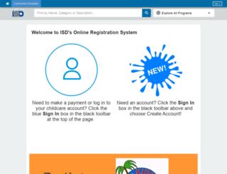 isdschools.myprogramplus.com screenshot