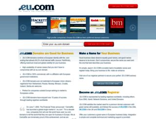 ise.eu.com screenshot