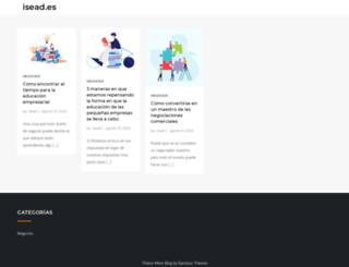 isead.es screenshot