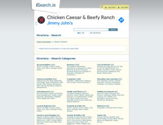 isearch.ie screenshot