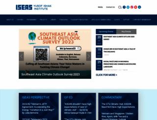 iseas.edu.sg screenshot