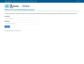 iseek-external.un.org screenshot