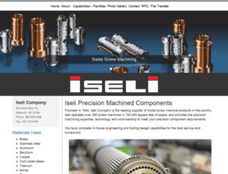 iseli.com screenshot