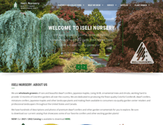 iselinursery.com screenshot