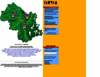 iseria.com screenshot