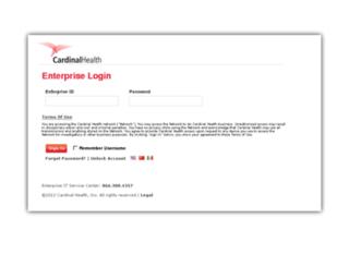 isf.cardinalhealth.com screenshot