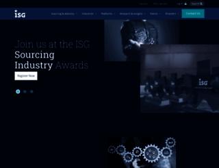 isg-one.com screenshot