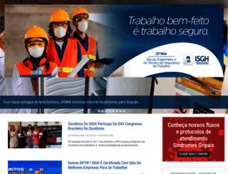 isgh.org.br screenshot