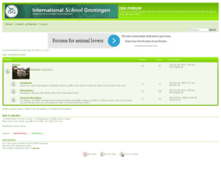 isgroningen.forumotion.net screenshot