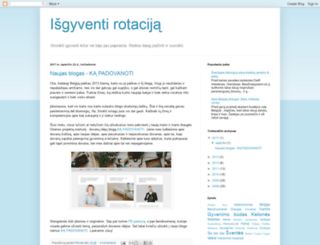 isgyventibelgijoje.blogspot.com screenshot