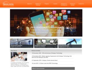 ishajaya.com screenshot