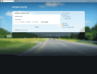 ishare-world.blogspot.com screenshot