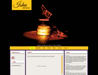 ishasharvani.com screenshot