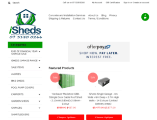 ishedsonline.com.au screenshot