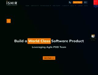 ishir.com screenshot