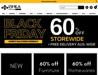 ishka.com.au screenshot