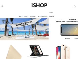 ishop.com.eg screenshot