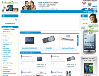 ishop2you.com screenshot