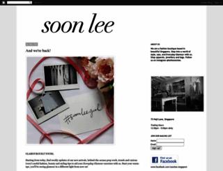 ishopsoonlee.blogspot.com screenshot