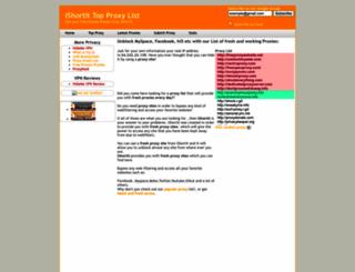 ishortit.com screenshot