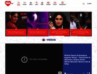 ishqfm.com screenshot