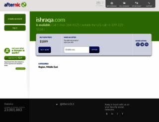 ishraqa.com screenshot