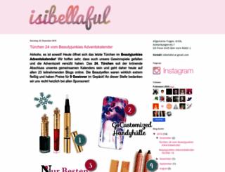 isibellaful.blogspot.de screenshot