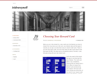 isidrareynell.wordpress.com screenshot