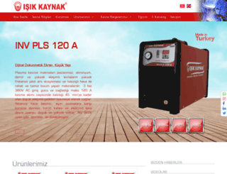 isikkaynak.com screenshot