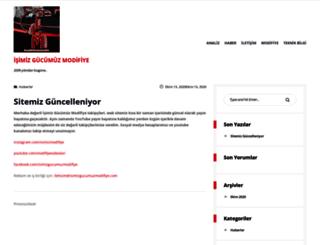 isimizgucumuzmodifiye.com screenshot