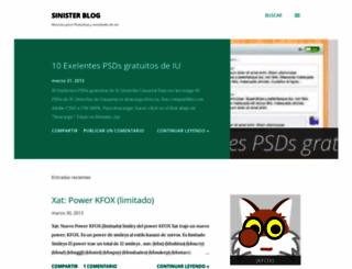 isinister.blogspot.com.ar screenshot