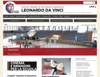 isisdavinci.gov.it screenshot