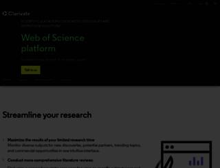 isiwebofknowledge.com screenshot